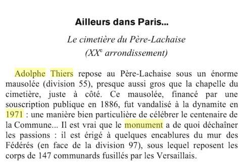 Petits quizz hivernaux: 1871-1971. Paris10