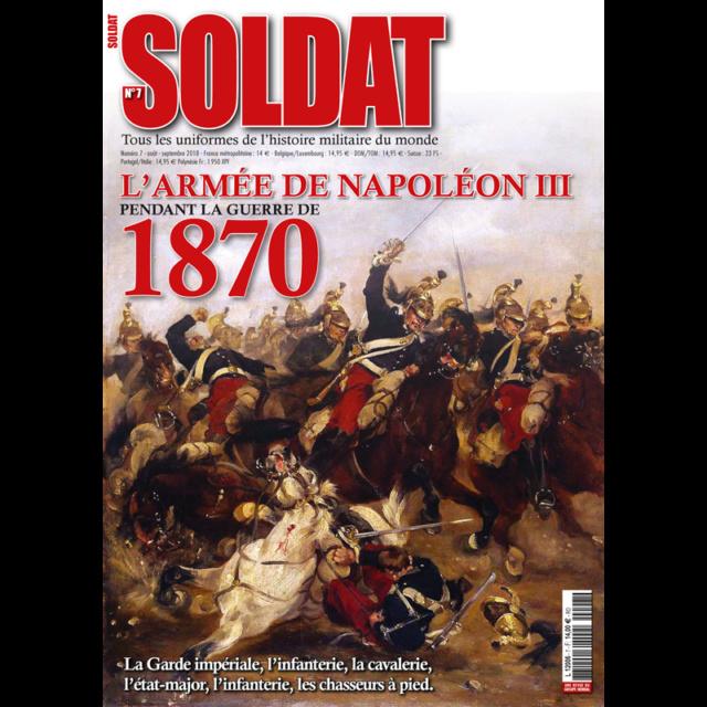 Revue SOLDAT: l'armée de Napoléon III. Soldat10