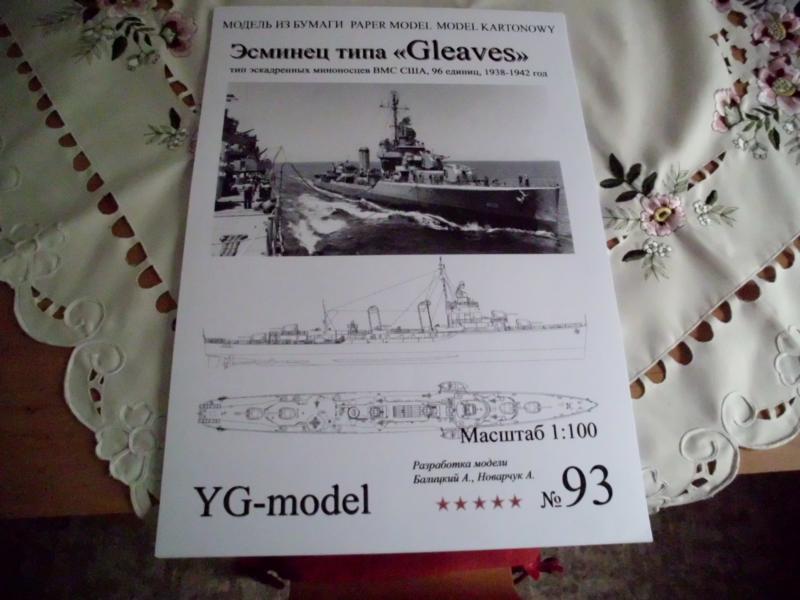 """Zerstörer """"Bristol"""" vom YG-Verlag 1:100 gebaut von Herbert Dsci9451"""