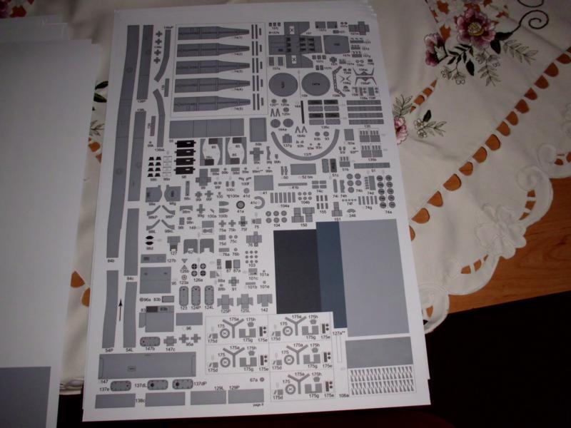 """Zerstörer """"Bristol"""" vom YG-Verlag 1:100 gebaut von Herbert Dsci9460"""