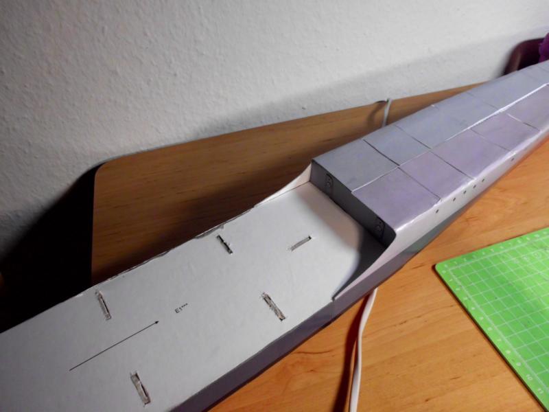 """Zerstörer """"Bristol"""" vom YG-Verlag 1:100 gebaut von Herbert Dsci9511"""