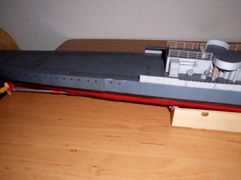 """Zerstörer """"Bristol"""" vom YG-Verlag 1:100 gebaut von Herbert Dsci9611"""