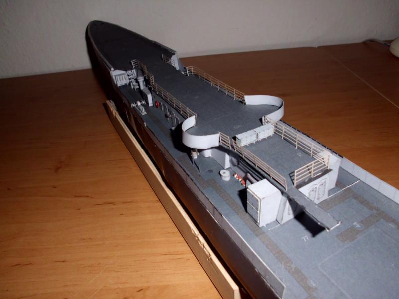 """Zerstörer """"Bristol"""" vom YG-Verlag 1:100 gebaut von Herbert Dsci9612"""