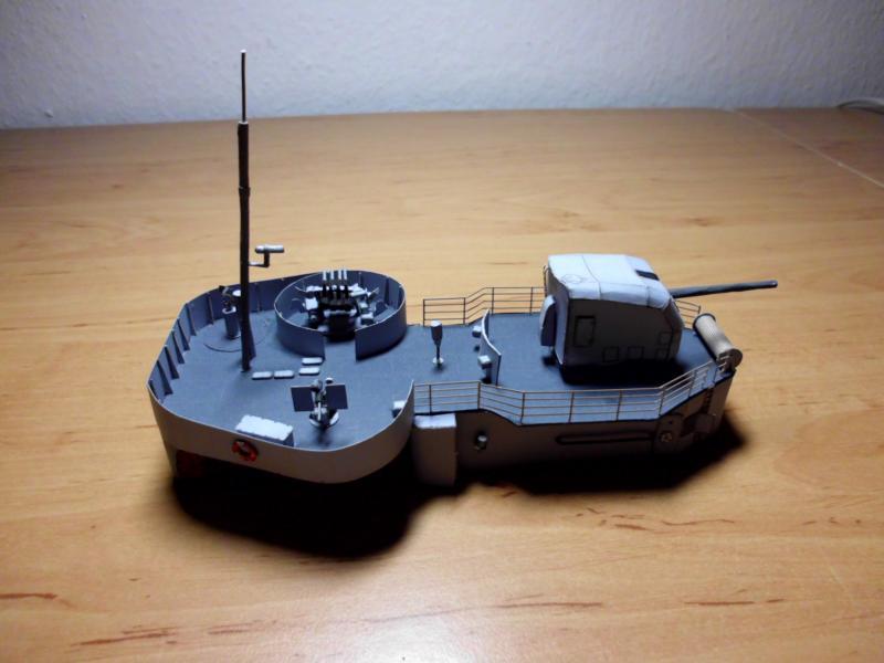 """Zerstörer """"Bristol"""" vom YG-Verlag 1:100 gebaut von Herbert Dsci9618"""