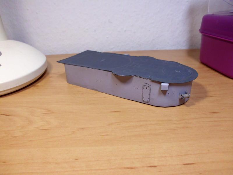 """Zerstörer """"Bristol"""" vom YG-Verlag 1:100 gebaut von Herbert Dsci9629"""