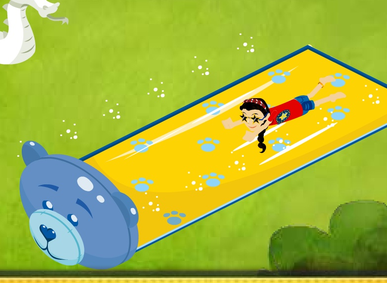 Beary Newsworthy Water Slide! Slider10