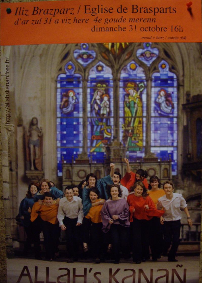 La chorale Allah's kanañ, championne de Bretagne 2010, en concert à Brasparts Imgp3144