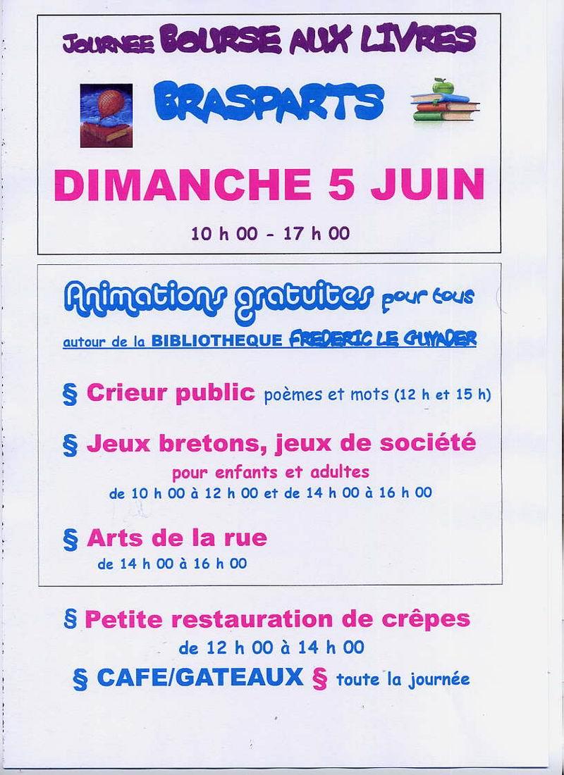 """Journée """"Bourse au Livres"""" avec animations (5 juin 2011)  à Brasparts Jopurn10"""