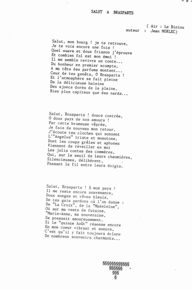 """""""Salut à Brasparts"""", et """"Brasparts, mon bourg natal"""", deux chansons de Jean Morlec Salut_10"""
