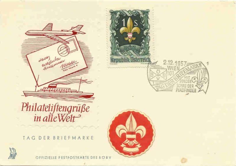 Sonderstempel Österreich, Thema Pfadfinder A008_f11