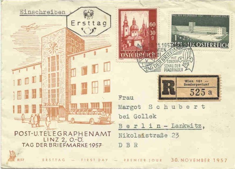 Sonderstempel Österreich, Thema Pfadfinder A008_v10