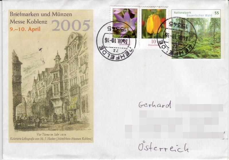 Postbelege - verhunzt und zerstört Kopfst10