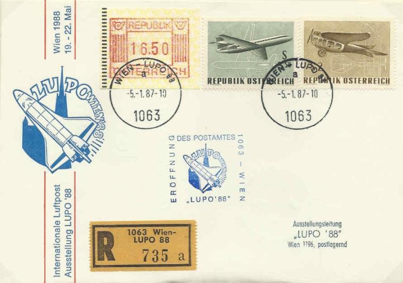 Internationale Luftpostausstellung Lupoer10