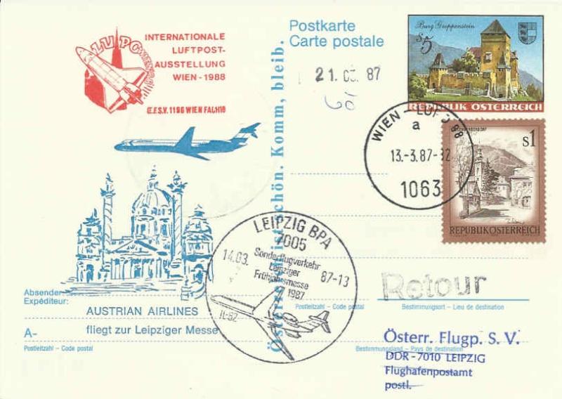 Internationale Luftpostausstellung Lupoot10