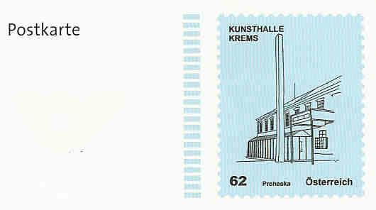 """Postkarte und Ganzsachenumschläge """"Kunsthäuser"""" Postka14"""