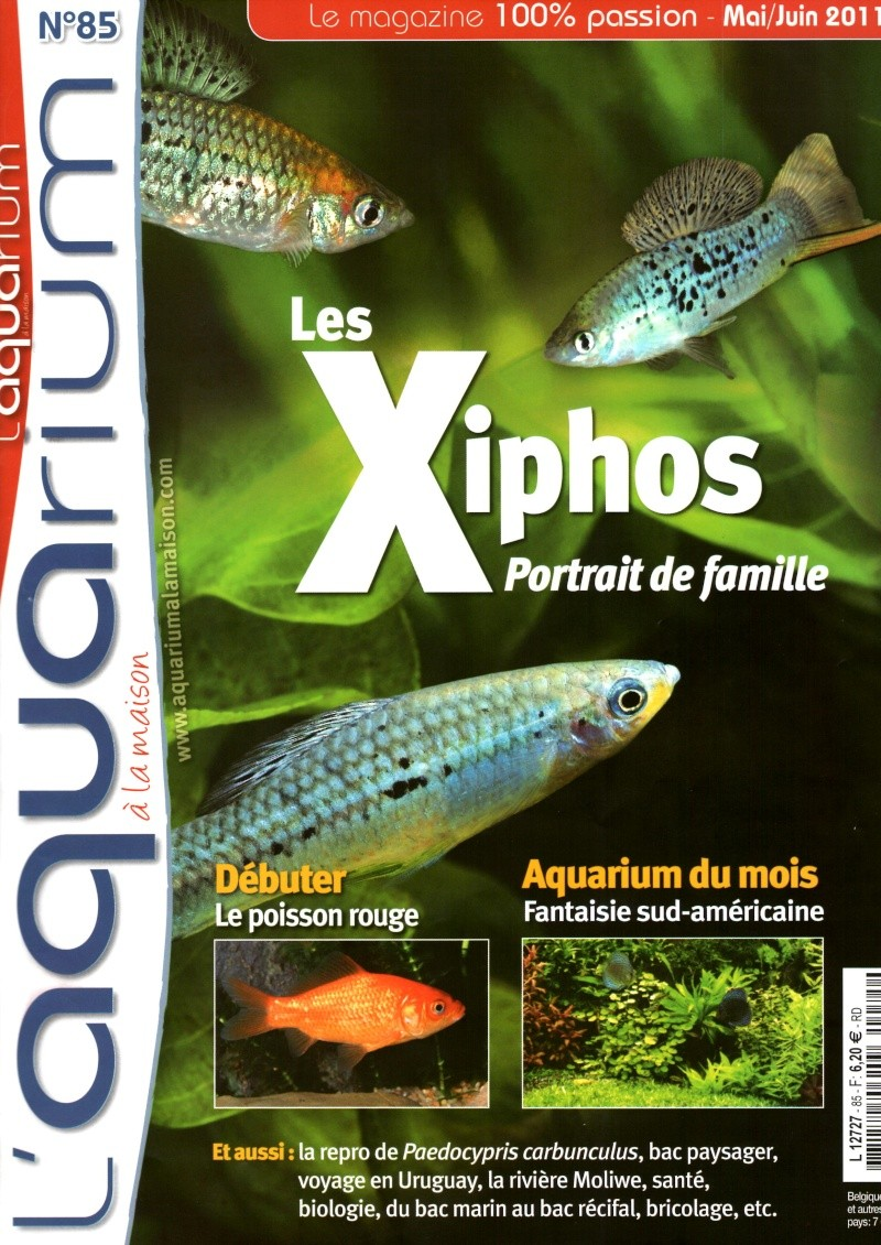 L'aquarium à la maison n° 85 - Mai/Juin 2011 Img00312