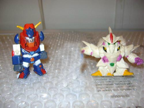 GASHAPON BANDAI & BANPRESTO  ACTION FIGURE VARIE PUFFI ROBOT, TRANSFORMER GATCHAMAN POWER RANGERS DRAGONBALL Deform10