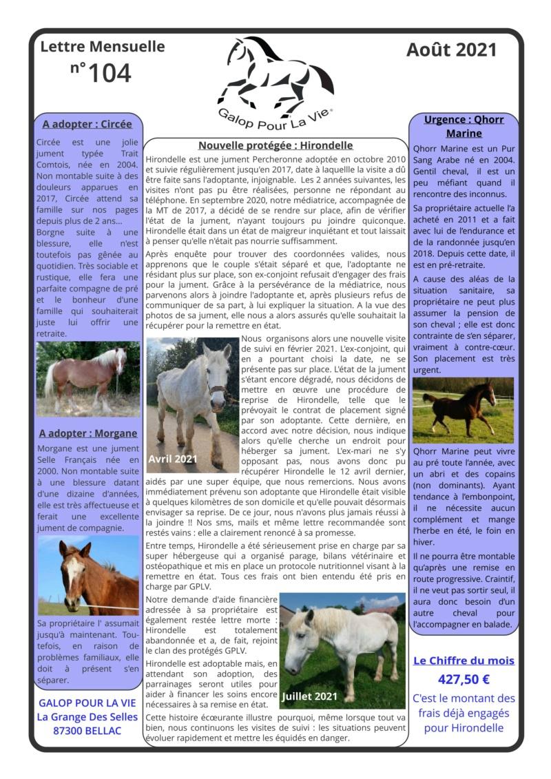 GPLV - Lettre Mensuelle n°104 - Août 2021  Nl_aou36