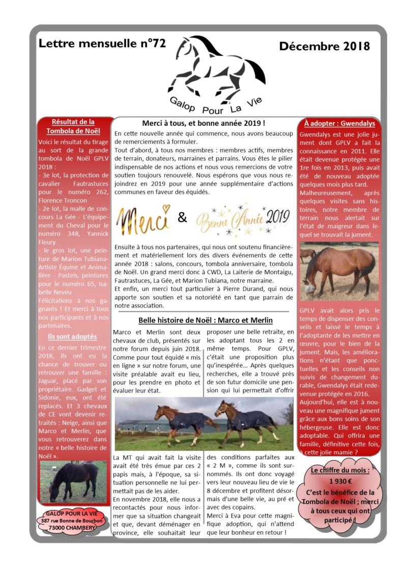 GPLV - Lettre Mensuelle n°72 - Décembre 2018  Nl_dzo17