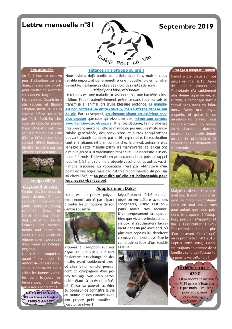 GPLV - Lettre Mensuelle n°81 - Septembre 2019  Nl_sep17