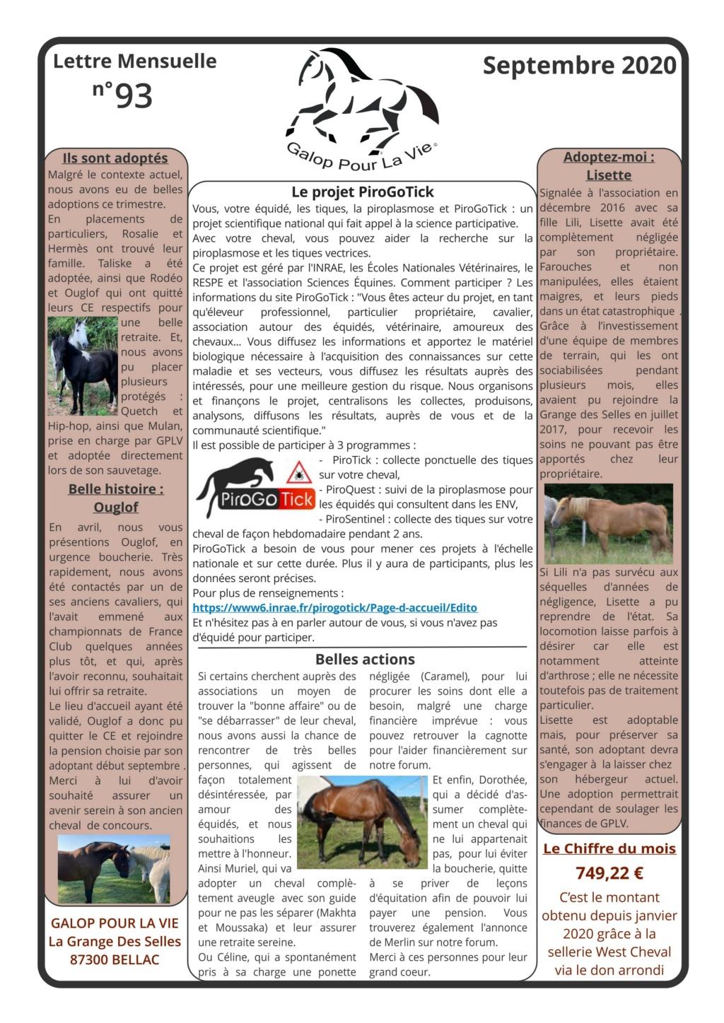 GPLV - Lettre Mensuelle n°93 - Septembre 2020   Nl_sep23