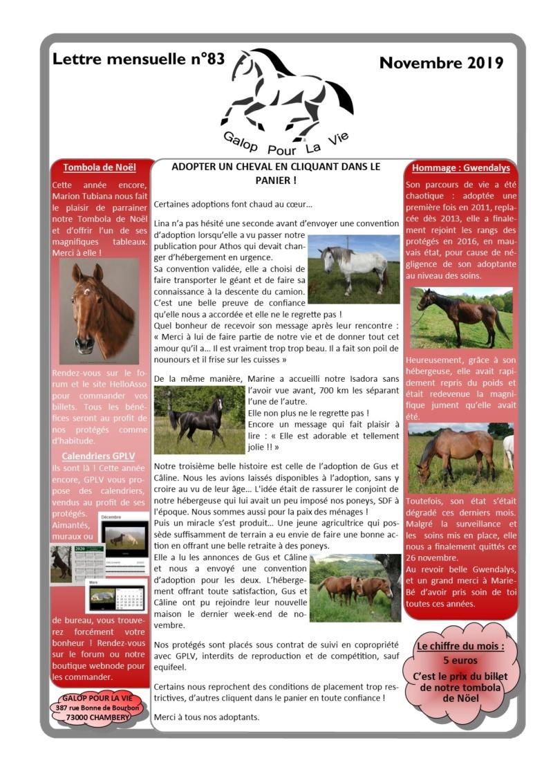 GPLV - Lettre Mensuelle n°83 - Novembre 2019  Nlnove12