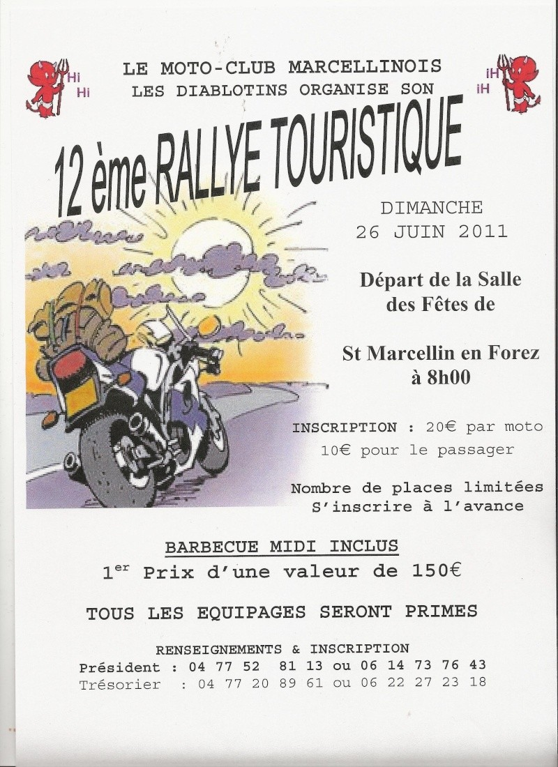 12 me rallye touristique du moto club les diablotins. Black Bedroom Furniture Sets. Home Design Ideas