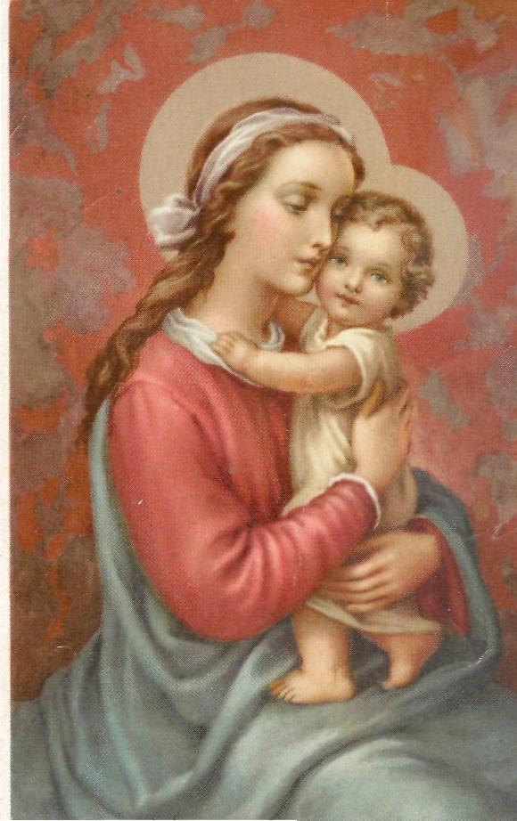 Maternité  de la Très Sainte Vierge Marie (11 octobre) Jasus_11
