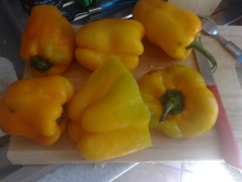 Peperoni e melanzane ripieni di riso Pepero11