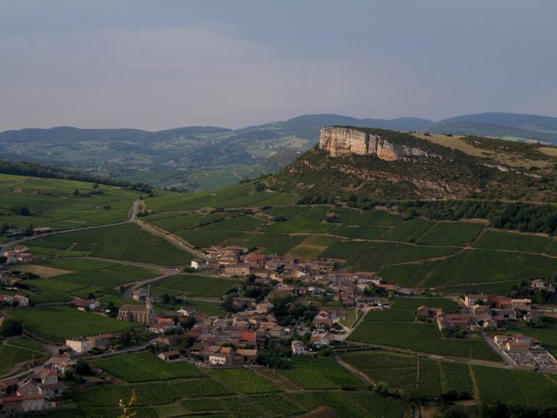 la roche de Solutré Bourgo12