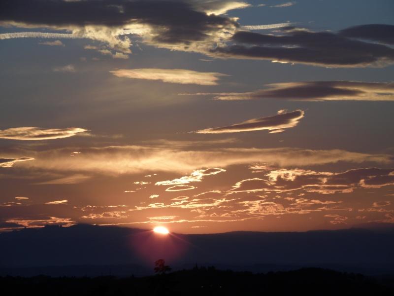 Lever de soleil sur les Alpes  Marcla30