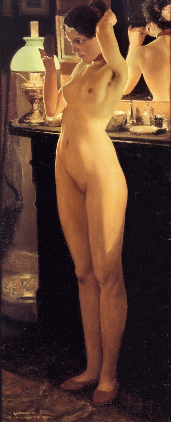la plus belle peinture hollandaise de femme nue Theo_m10
