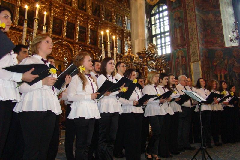 """Concert coral """"Astazi, la Florii"""" al Corului Bisericii Barboi Barboi13"""
