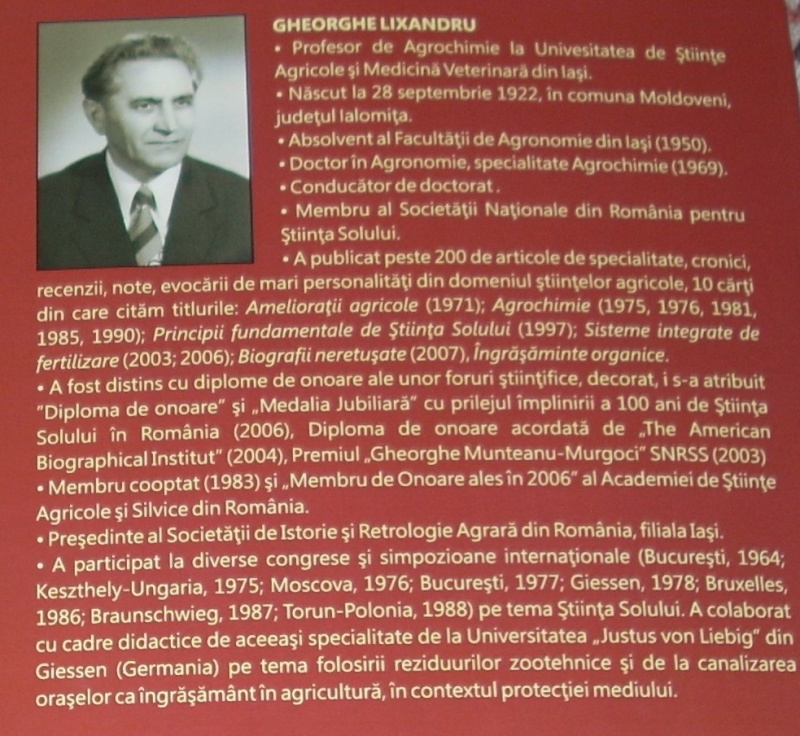 Gheorghe Lixandru-profesor de agrochimie la Universitatea de Stiinte Agricole Iasi Carte_13