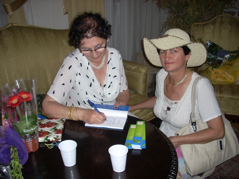 18 iunie 2011-Sedinta a XIV A Cenaclului U.P.-Lansare de carte Marioara Visan si Silvia Goteanschii,lectura publica Vasilian Dobos Cenac111