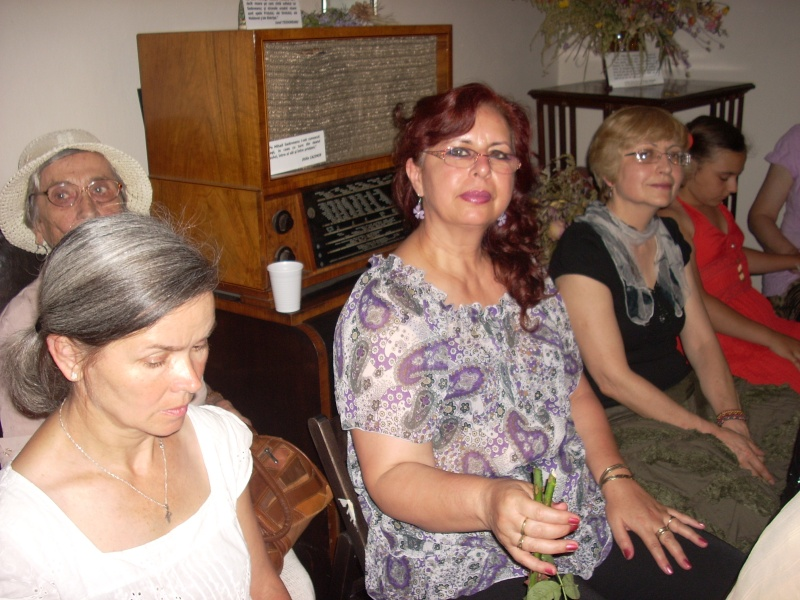 18 iunie 2011-Sedinta a XIV A Cenaclului U.P.-Lansare de carte Marioara Visan si Silvia Goteanschii,lectura publica Vasilian Dobos Cenacl95