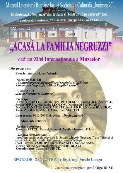 """ACASĂ LA FAMILIA NEGRUZZI""- Muzeul ""C. Negruzzi"" din Hermeziu, comuna Trifeşti-duminica 22 mai 2011 Clip_153"