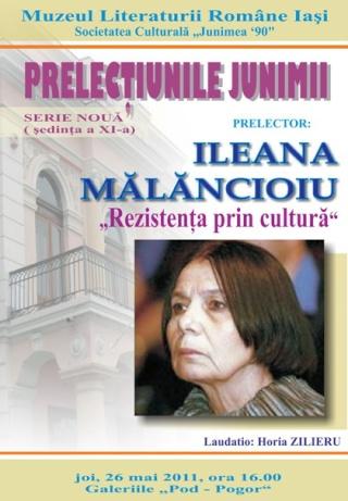 PRELECŢIUNILE JUNIMII-Ileana MĂLĂNCIOIU-26 mai 2011-şedinţa a XI-a Clip_158