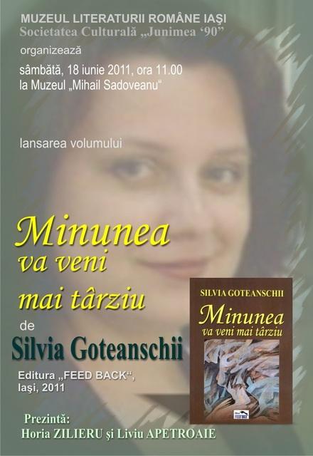 18 iunie 2011-Sedinta a XIV A Cenaclului U.P.-Lansare de carte Marioara Visan si Silvia Goteanschii,lectura publica Vasilian Dobos Clip_435