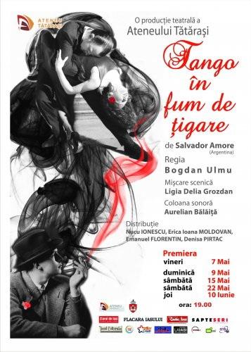 """""""TANGO IN FUM DE ŢIGARE""""-seara de teatru la Ateneu Clip_616"""