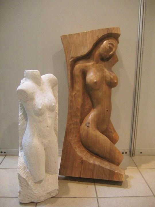 Vernisaj expozitie de pictura si sculptura -Liliana Nastas Brătescu/Ioan Croitor Brădescu-Dialog Metaforic-9-19 iunie 2011 Brasov Clip_619