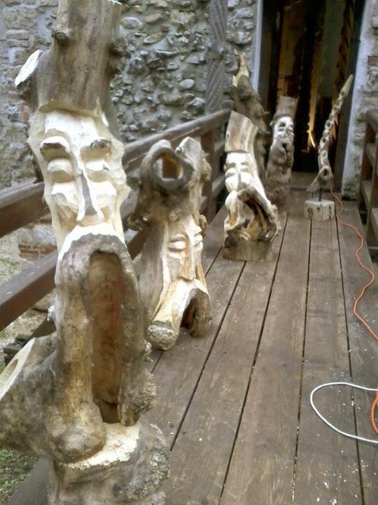 Vernisaj expozitie de pictura si sculptura -Liliana Nastas Brătescu/Ioan Croitor Brădescu-Dialog Metaforic-9-19 iunie 2011 Brasov Clip_712