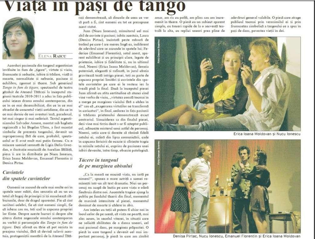 """""""TANGO IN FUM DE ŢIGARE""""-seara de teatru la Ateneu Clip_913"""