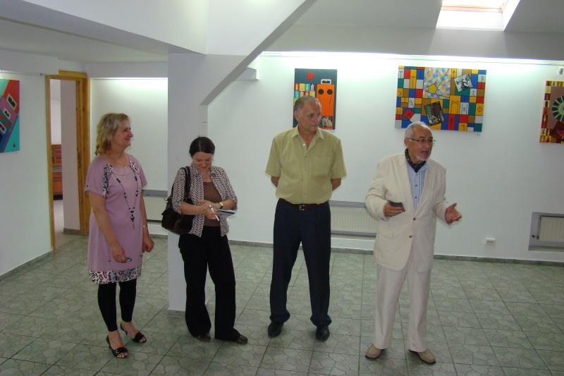 """Vernisajul expoziţiei """"Autoportret cu înger păzitor"""" Const_15"""