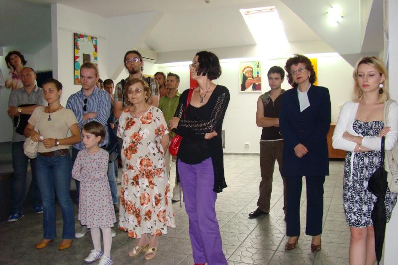 """Vernisajul expoziţiei """"Autoportret cu înger păzitor"""" Const_19"""