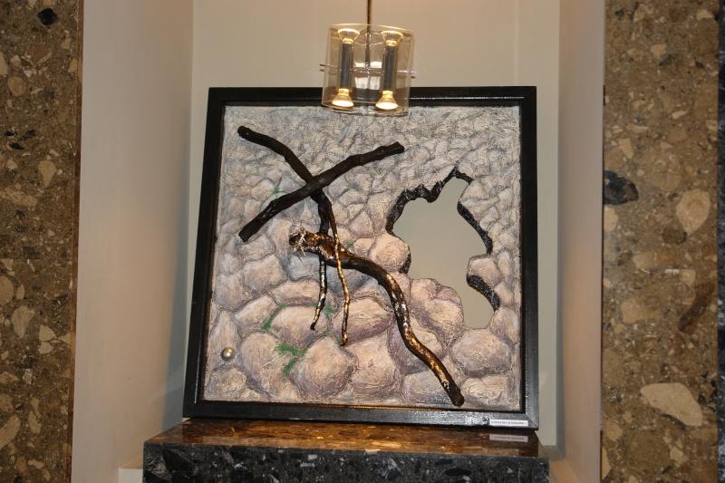 Vernisaj expozitie de pictura si sculptura -Liliana Nastas Brătescu/Ioan Croitor Brădescu-Dialog Metaforic-9-19 iunie 2011 Brasov Dsc05611