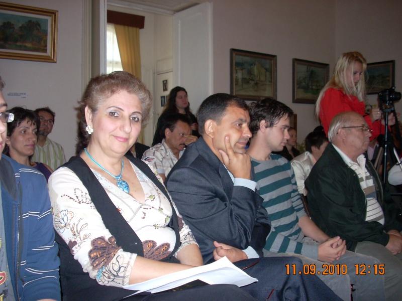 11 septembrie 2010 -Sedinta a V-a a Cenaclului U.P-Lansare de carte-Treizeci si cinci-Ovidiu Raul Vasiliu Dscn3517