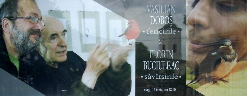 """Vernisaj expozitie:""""FERICIRILE""""-Vasilian Doboş şi """"ŞĂVÎRŞIRILE""""Florin Buciuleac-marti 14 iunie Dulcea17"""