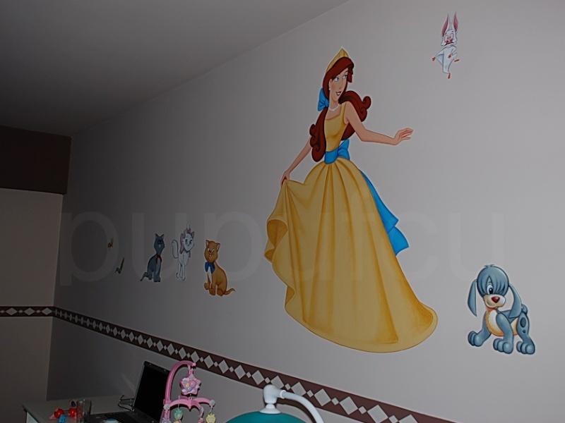 Picturi murale si diverse decoratiuni pentru camere de copii F10