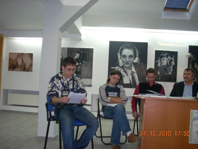 """CENACLUL """"JUNIMEA NOUĂ""""-ediţia a IV a Junime14"""